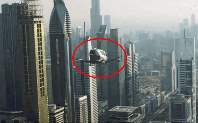 The future is now: The Ehang 184 taxi drone that will start ferrying passengers around Dubai in July. Jetsons, anyone?