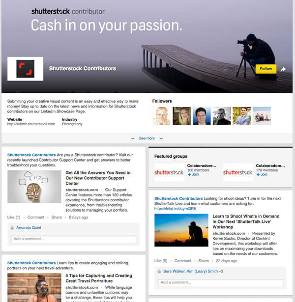 best linkedin company pages practices
