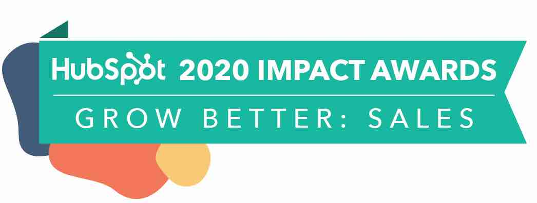 HubSpot Impact Awards 2020 - Grow Better Sales